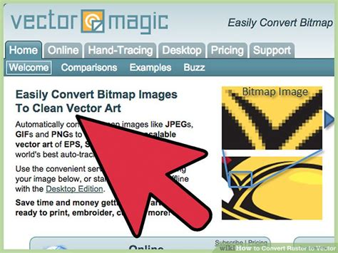 Convert Raster Image To Vector