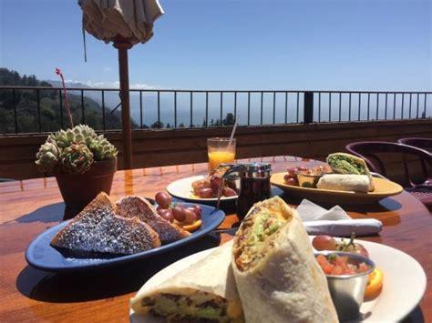 big sur bed and breakfast cafe kevah big sur restaurantanmeldelser tripadvisor