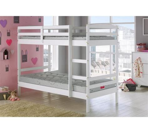 bunk bed argos buy home josie single bunk bed frame white at argos co