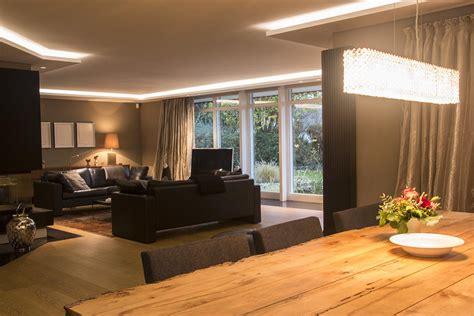 wohnzimmer licht lichtplanung mit designer leuchten