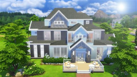 Mod The Sims Big Family Small Budget 5 The Sims 4 Speed Build Large Family Home Sims 3