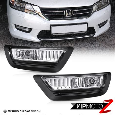headlight tail l fog light parking lens switch 2013 2015 honda accord dark red led neon tube rear tail