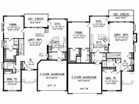 3000 sq ft house plans split bedroom floor plans 1600 square feet level 1 view