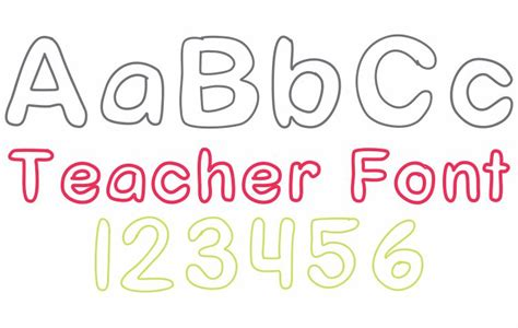 free printable outline fonts number names worksheets 187 kindergarten free download