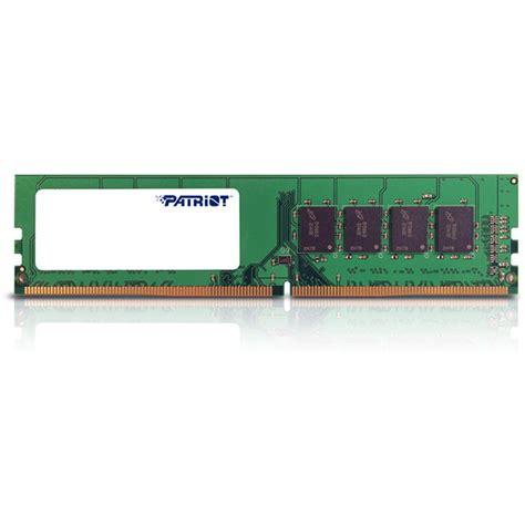 Ram Pc Ddr4 8gb patriot 8gb ddr4 2400 mhz udimm memory module psd48g24002 b h