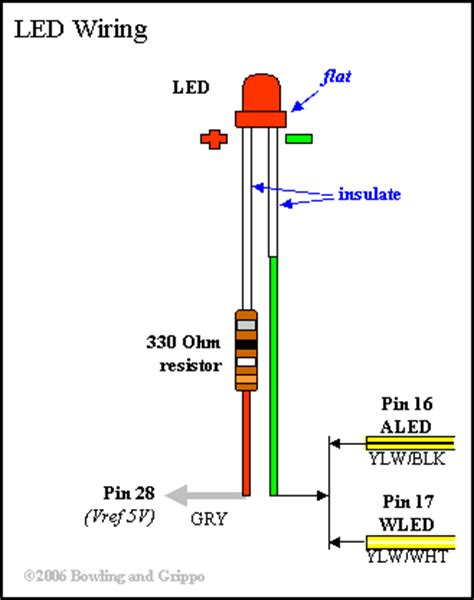 resistor for led wiring diagram resistor free engine