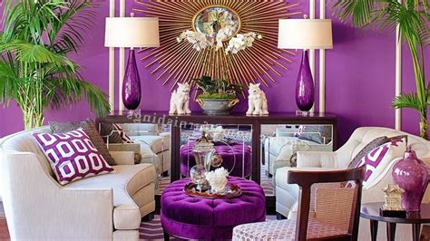 purple home decor purple decor for living room