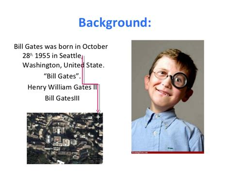 ppt on biography of bill gates presentation on bill gates iii
