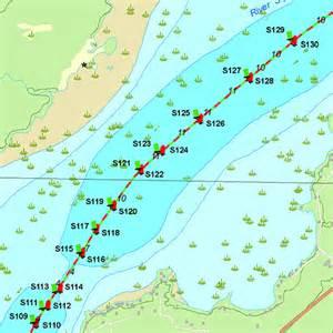 depth map canada waterproof printed individual chart of big gull lake in