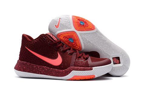 basketball shoes womens sale wholesale nike kyrie 3 womens wine basketball shoe for
