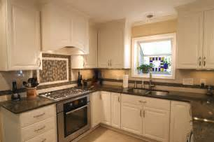 lovely White Kitchen Cabinets And Black Countertops #1: Popular-Pictures-Of-White-Kitchen-Cabinets-With-Granite-Countertops.jpg