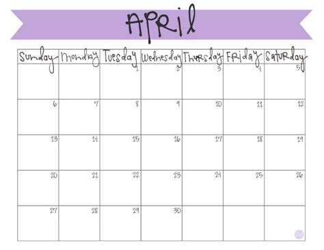 Calendar April 2014 April 2014 Calendar Free Printable Live Craft Eat