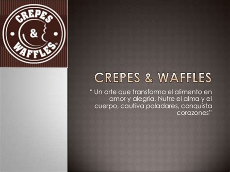 crepes wafles