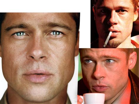 Brad Pitt And Turn Their Noses Up To The Oscars by Study Brad Pitt