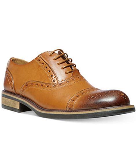 dress shoe macy s madden ziggy cap toe dress shoes shoes macy s