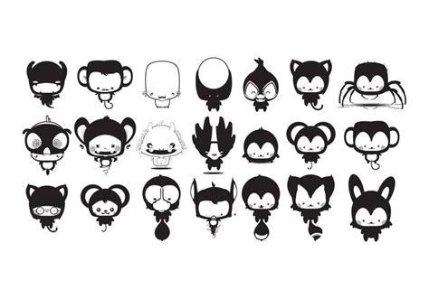 imagenes de animales kawwai kawaii animales de dibujos animados vector pack 161 arte