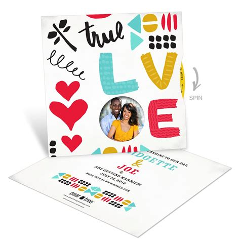 doodle spinner doodles photo spinner save the date cards pear tree