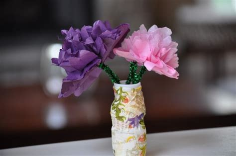 Tissue Paper Flowers In Vase by Craft How To Make Tissue Paper Flowers