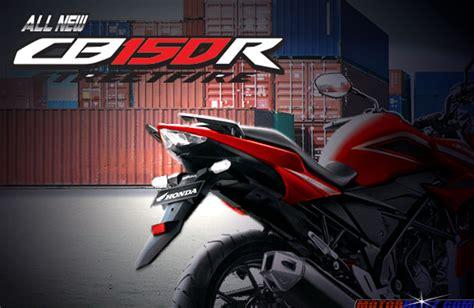 Fostep Belakang R 150 Original spesifikasi harga warna fitur dan original accessories all new cb150r 2015 motorblitz