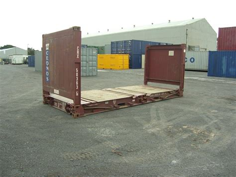 20 flat rack container balticon