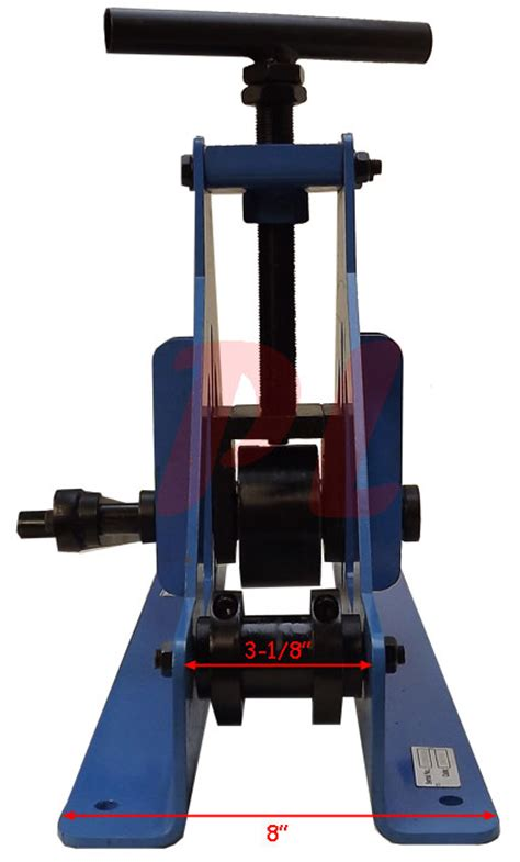 Rack And Roll Bend by 1 1 4 Quot Pipe Roller Rolling Bender Bending Fabrication