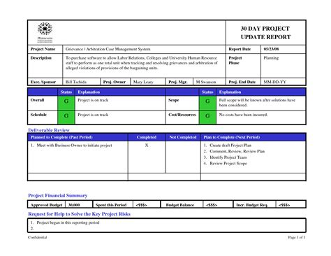 agile status report template status report template incident report template word