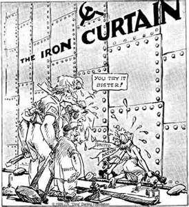 what is iron curtain cold war and the iron curtain review project