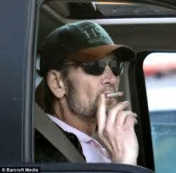 Swayze defiantly chain smokes as he battles cancer daily mail online