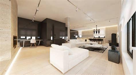 Resplendent Design From Katarzyna Kraszewska | black white living room design