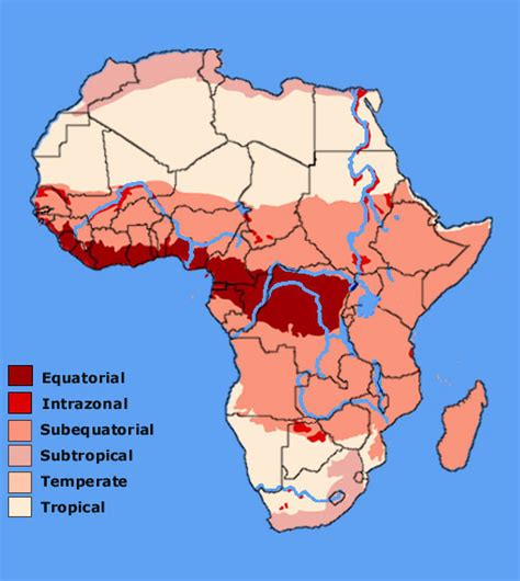 climate map of africa aas 101