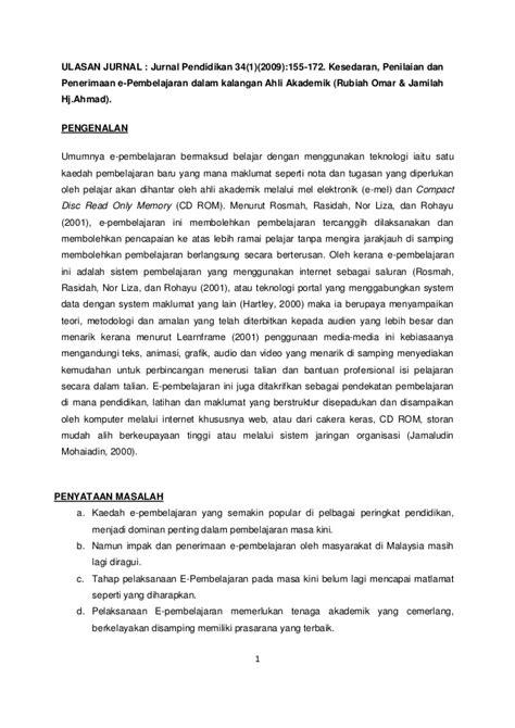 format ulasan artikel dalam jurnal ulasan jurnal kpt 6044