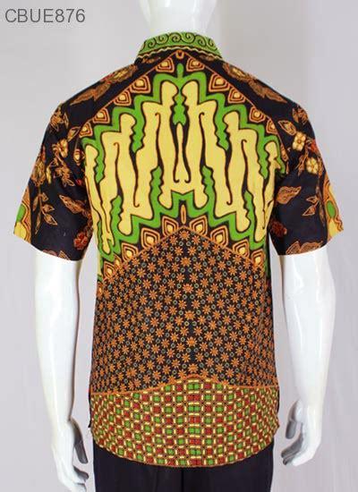 Kemeja Lengan Pendek Batik Sinaran 2 kemeja batik pendek blarak 9009 kemeja lengan pendek murah batikunik