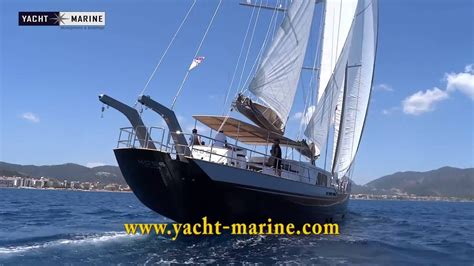 steel hull sailing boats for sale moss 40 m steel hull sail yacht for sale youtube