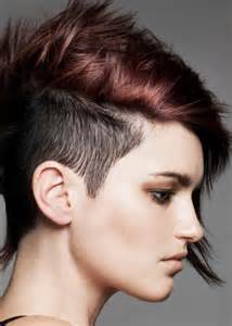 how to style half haircut for do you guys like the half bald shaved hairstyle on women