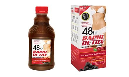 48hr Rapid Detox Does It Work by 48hr Rapid Detox 2 Day Cleanse Groupon Goods