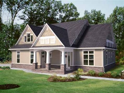Craftsman Style House Plans One Story by 2 Story Craftsman House 1 Story Craftsman Style House