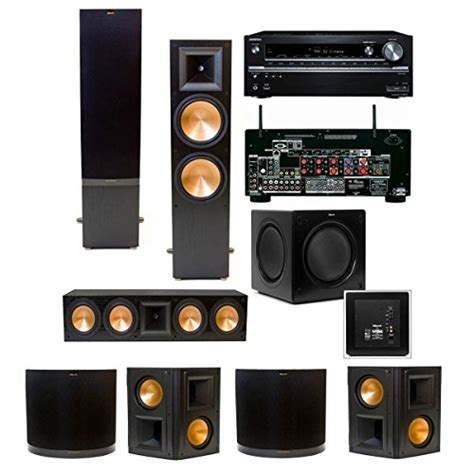review klipsch rf 7 ii 7 1 home theater system sw