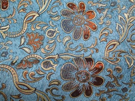 Fabrics And Upholstery by Sofa Fabric Upholstery Fabric Curtain Fabric Manufacturer 100 Polyester Flower Navy Blue Color