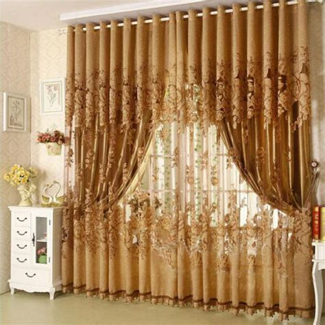 on sale 2 2 7m ready made window curtains for living room - Window Curtains For Sale