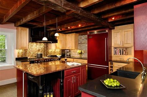 tin backsplash kitchen adding pressed tin into your home decor