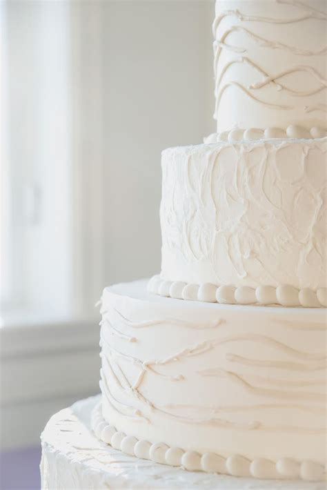 Rustic Cream Wedding Cake ? Palermo's Custom Cakes & Bakery