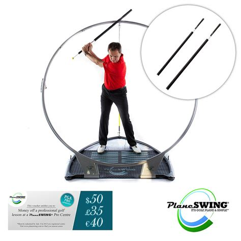 planeswing golf swing trainer planeswing golf swing trainer birdie package new ebay