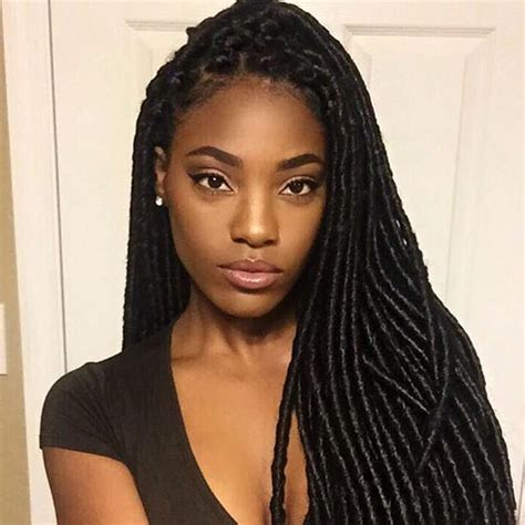 crochet braids in columbus peluciadelin in her bomba faux locs soul bossgals
