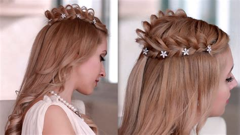 hair braiding styles step by step cosplay hair style how to braid crown hairstyle for