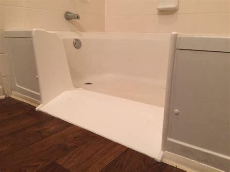 roll in bathtub customer installation photos marietta ga ameriglide