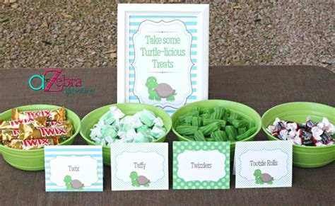 Turtles Baby Shower Theme by Turtle Themed Baby Shower Ideas Pretty My