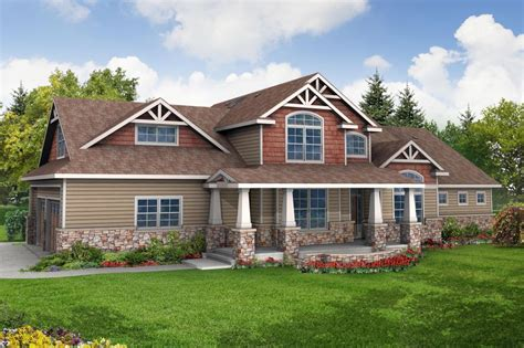 1 story houses one story craftsman house plans