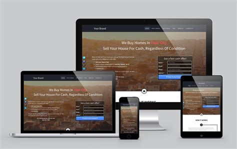 Best Real Estate Investor Website Templates Wholesale Business Website Templates