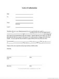 Authorization Letter For Bank Transaction Sample free printable letter of authorization form short sale