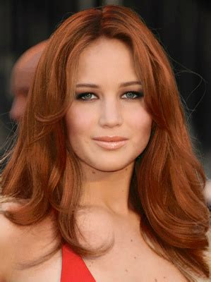 jennifer lawrence hair co or for two toned pixie jennifer lawrence with red hair red hair color